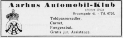 Annonce 1939-06-06 Stiften.