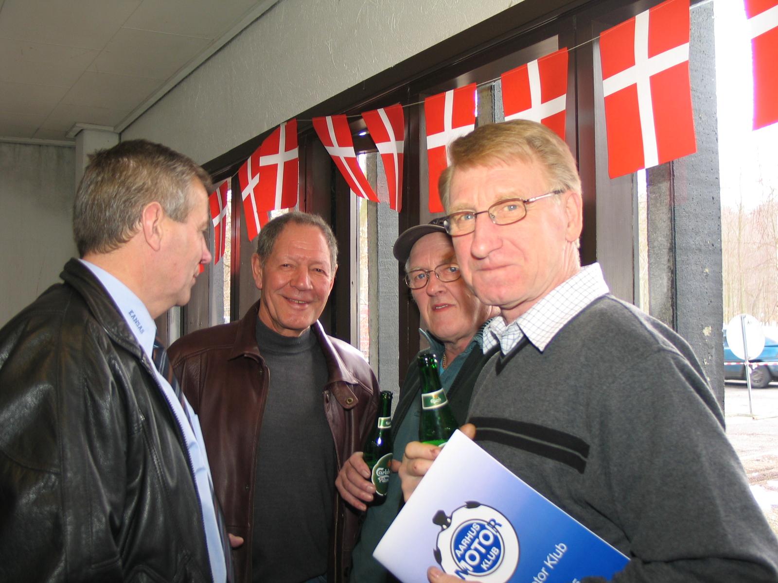 Williams, Bollerup, Egon Busk og Jørn Mogensen.