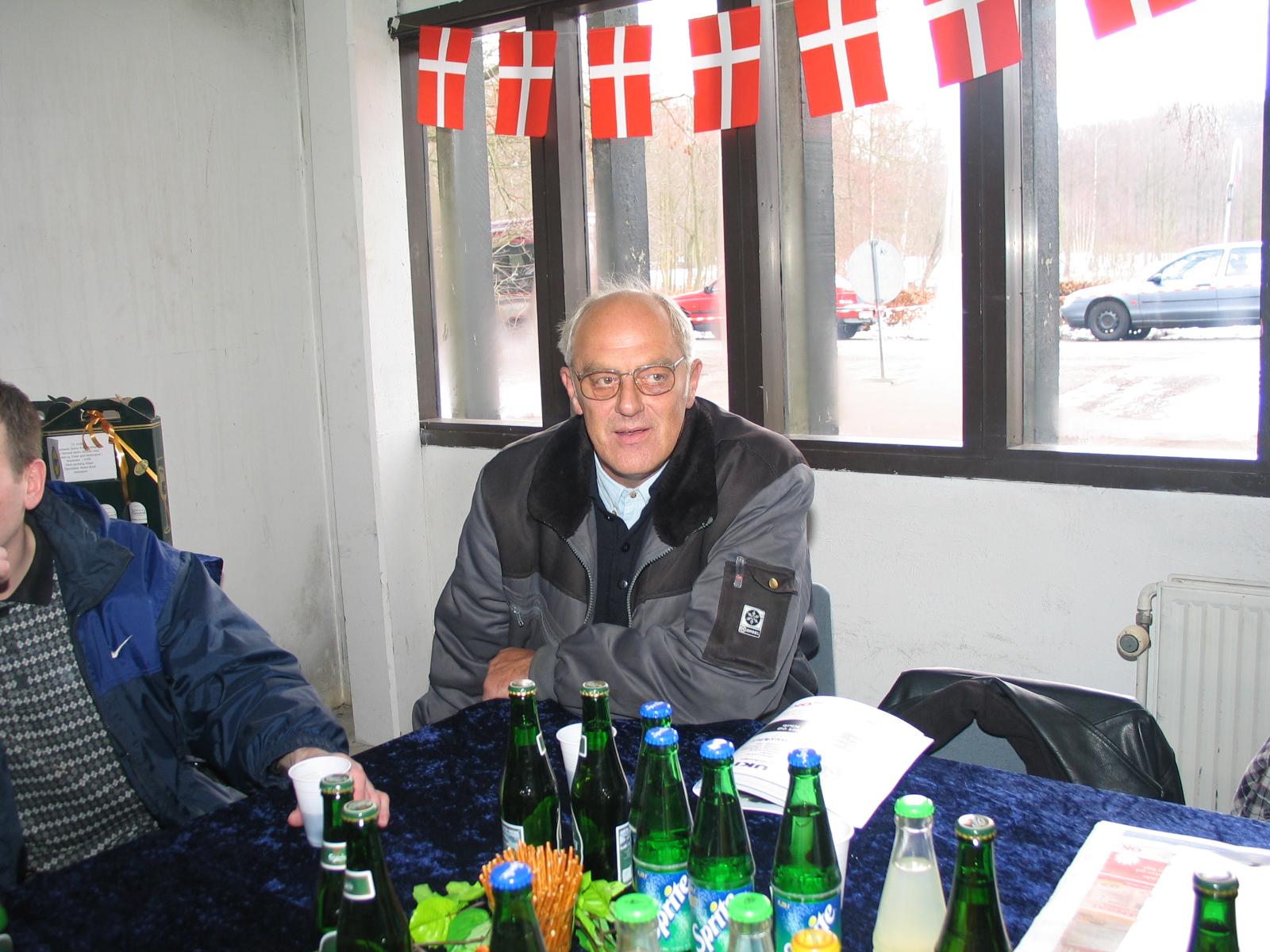 Poul Erik Olesen i base-camp.
