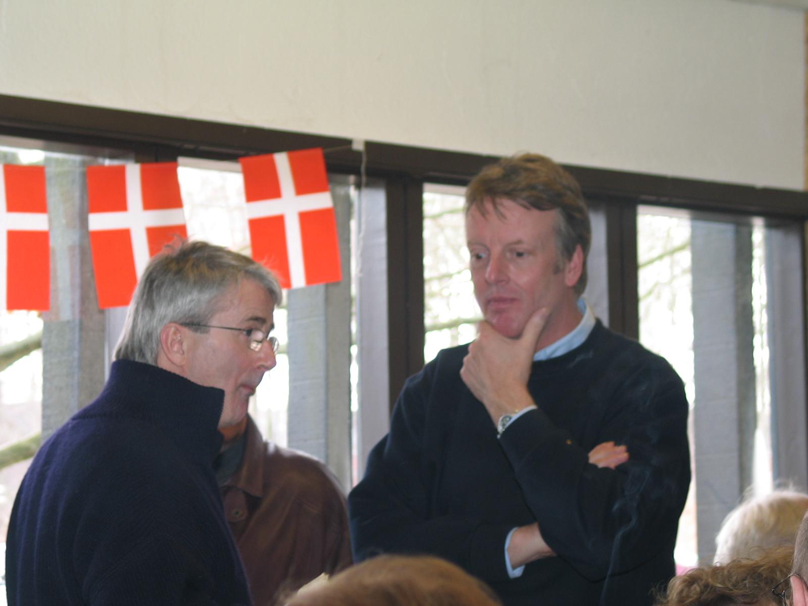 Niels Weiss og Steen Normann.