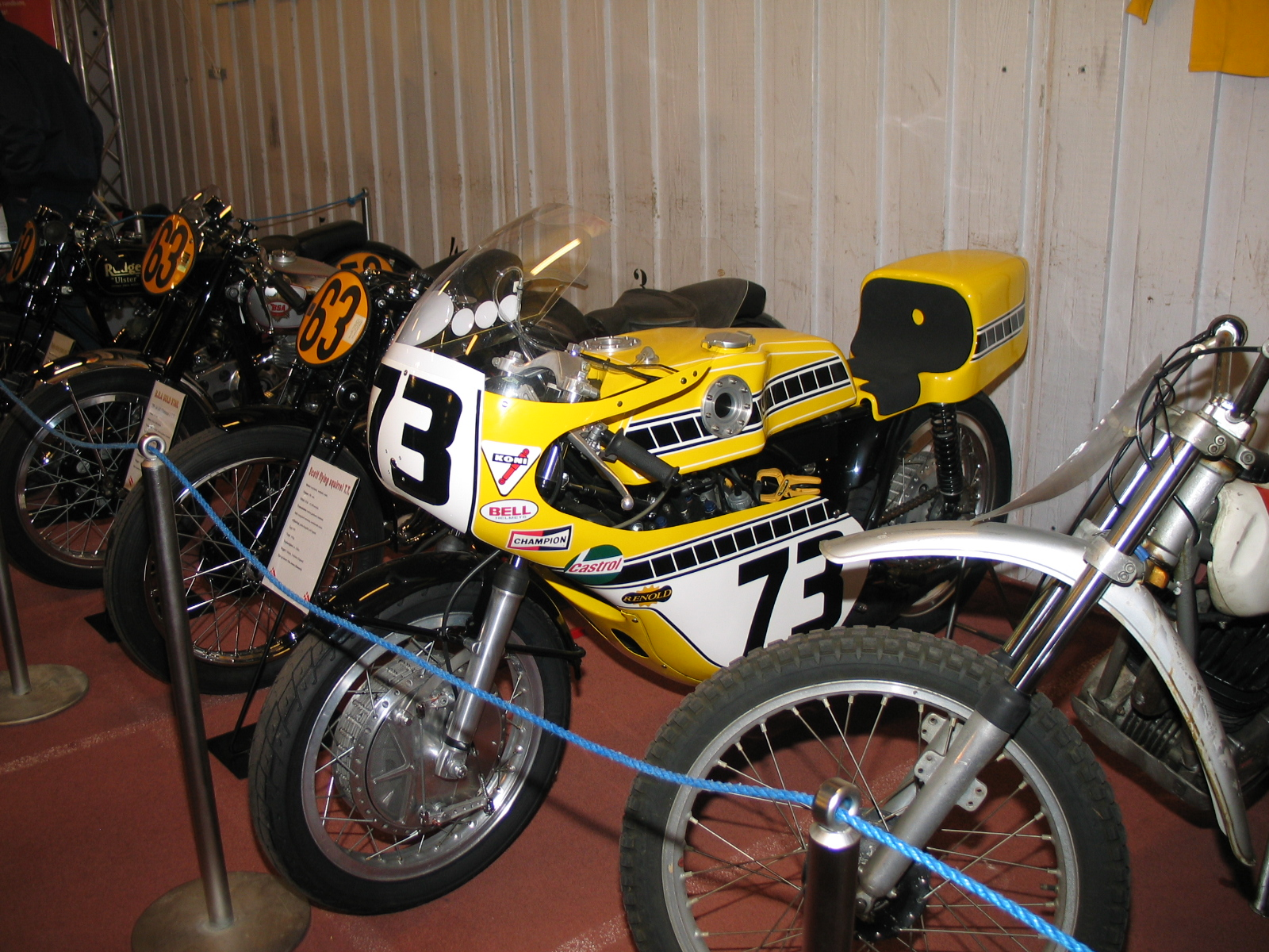 Yamaha Racer restaureret af Svend Andersson.