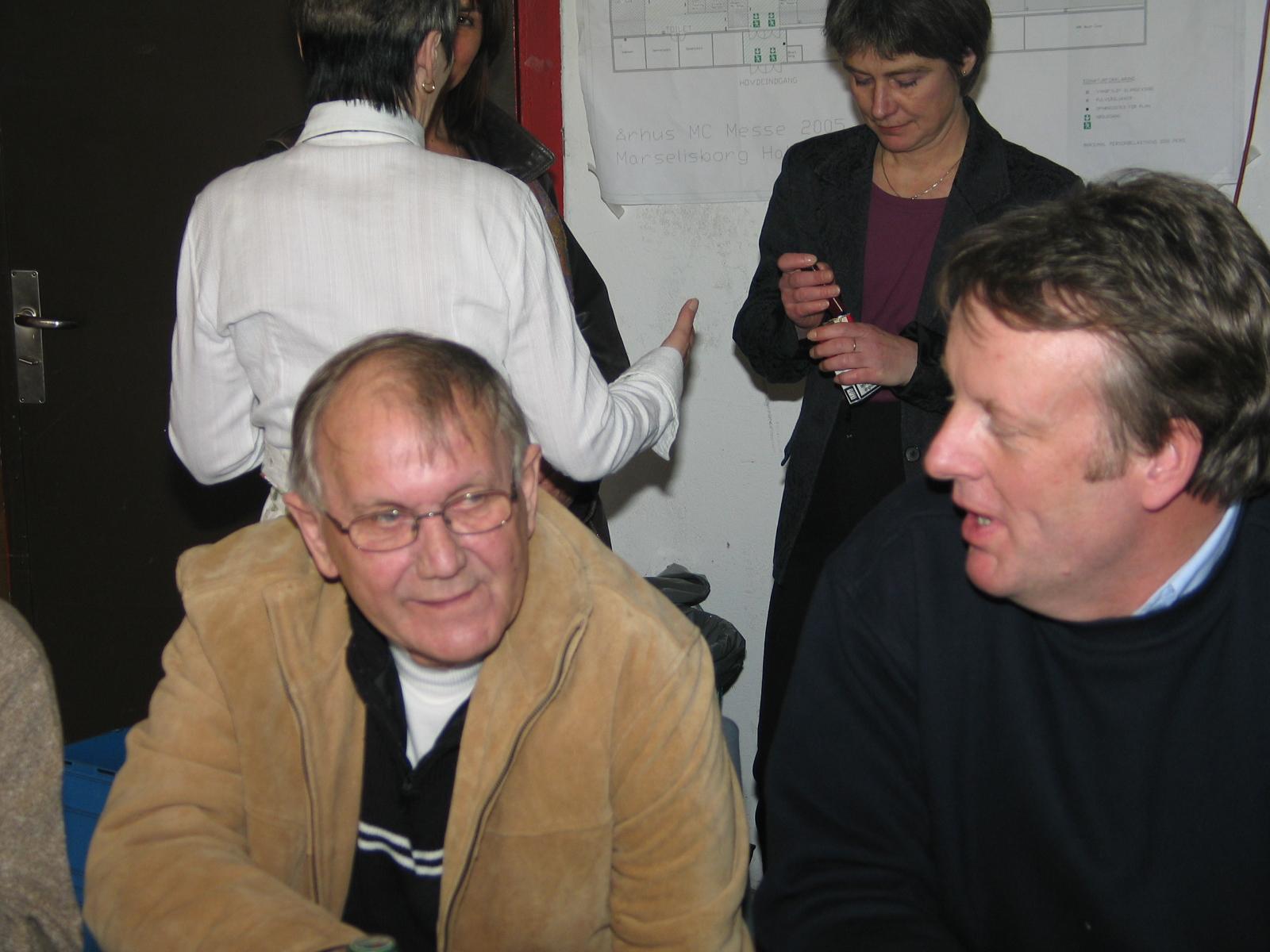 Henning Damsgaard og Steen Normann