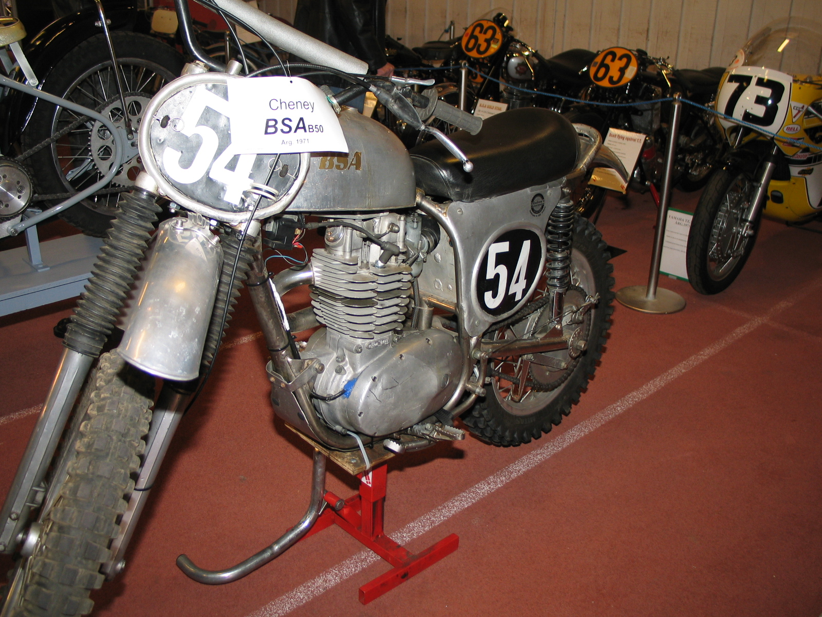 Åge Nickelsens Cheney BSA B50.