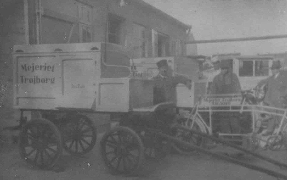Friis havde også at gøre med Mejeriet Trøjborg, der havde til huse i Tordenskjoldsgade 25.