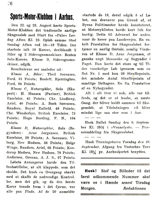 Resultater 1931