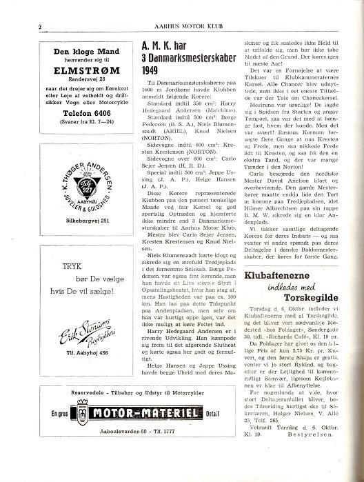 Klubblad okt.49-2