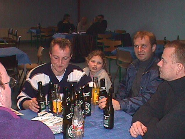 Chris Jensen, Alberte Kroon, Søren Kolind (Stoke) og Jens Kroon