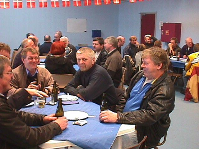 Leon Mogensen (Mini), Steen Normann, Åge Nickelsen, Jørgen Svendsen og Kurt Thomsen