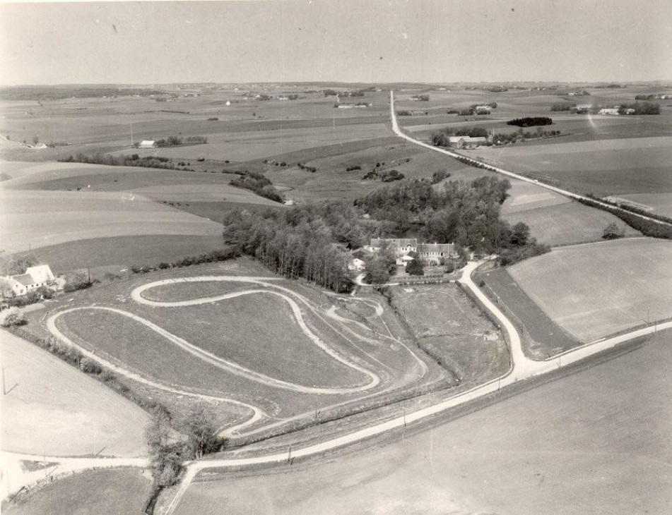 NMØ Motocrossbanen 1951 som træningsbane