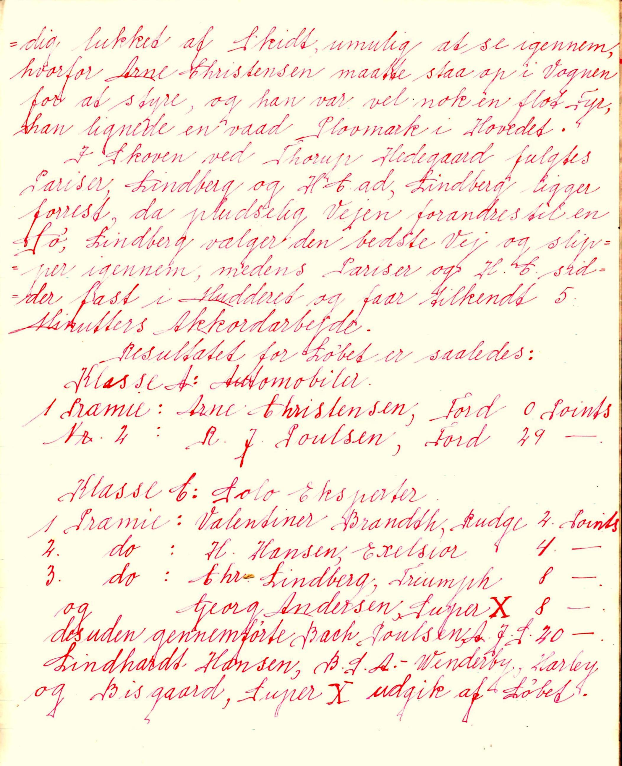Resultater 1930-1 Forhandlingsbog