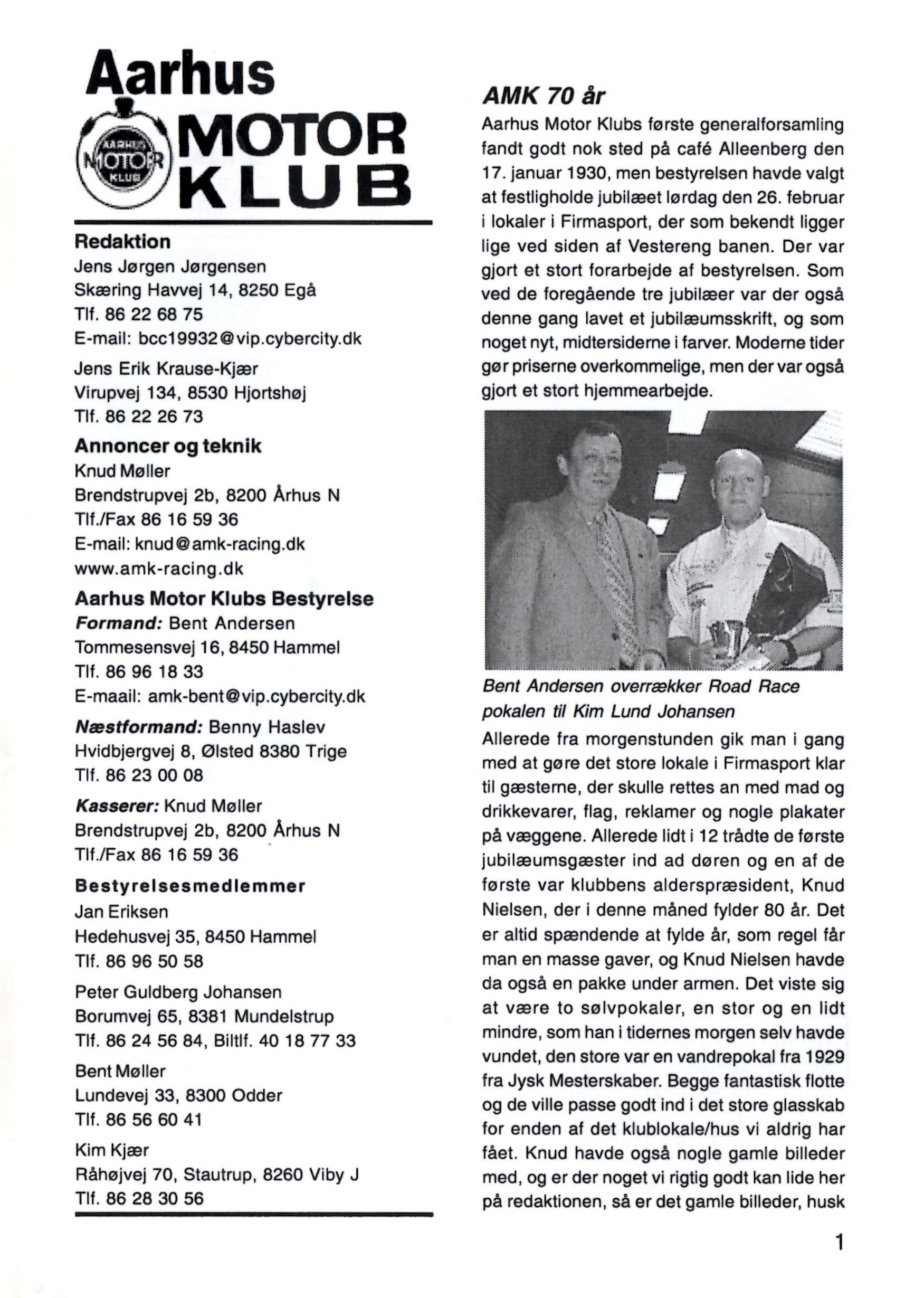 Omtale 1 marts 2000