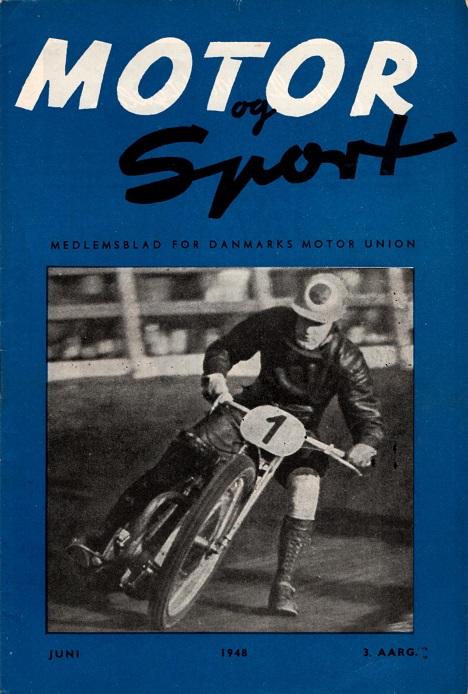 Basse Hveem var stævnets helt store navn. I juni nummer 1948 af DMU´s blad ses han her på forsiden fra stævnet i 1947.