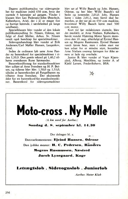 Annonce Ny Mølle 57 DMU blad sept 57