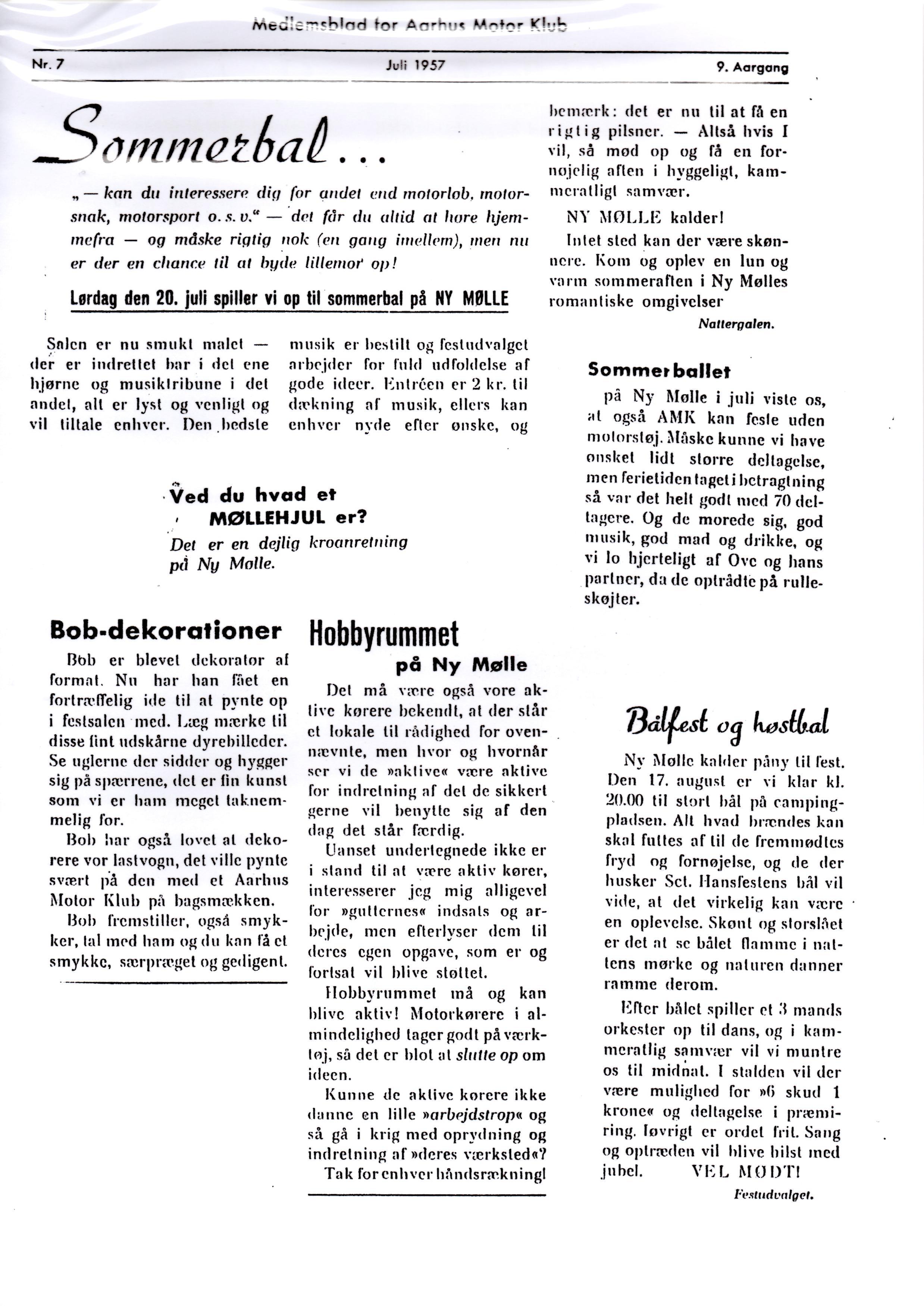 Klubblad 7-2-57