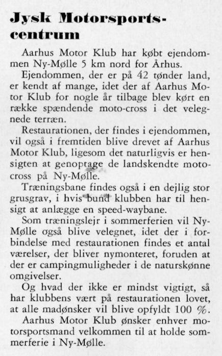 Ny Mølle købt DMU blad maj 57