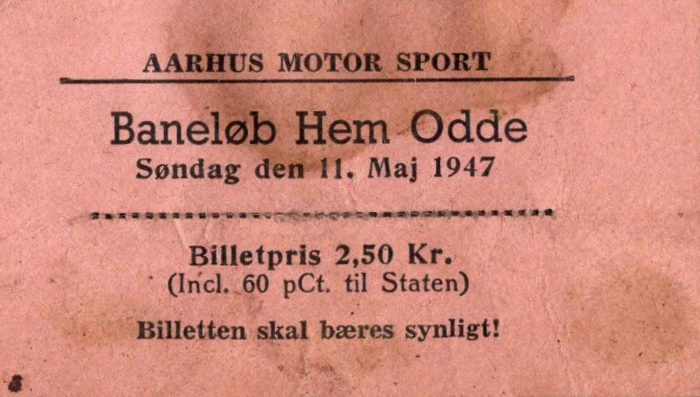 1947-05 Hem Odde Billet