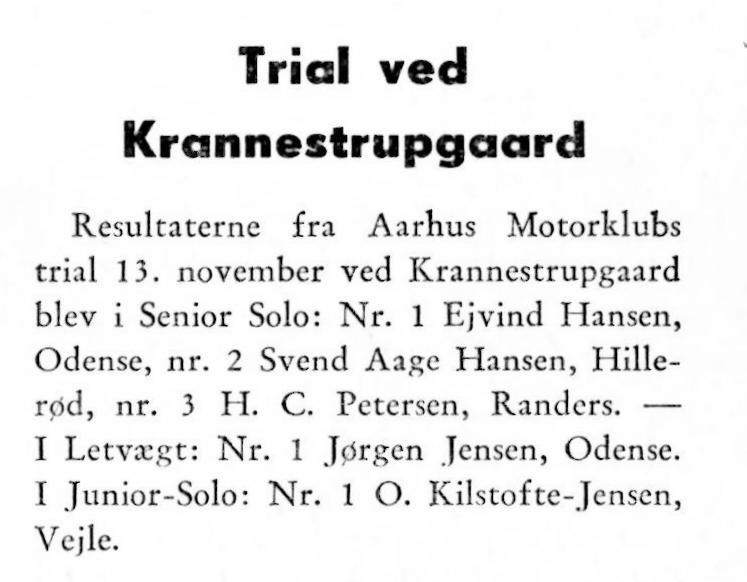 1955-12 AMK trial Krannestrupgård