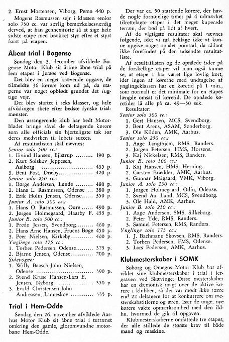 Motorbladet ja. 62 bragte en omtale af stævnet.
