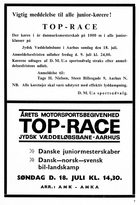 1965-07 MB Annonce mm Top-race