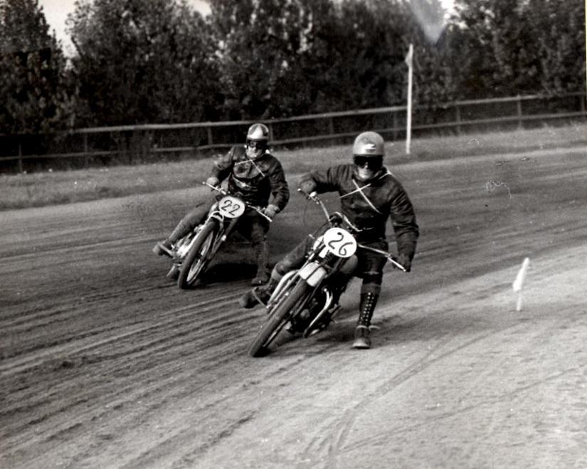 500st. 26 Alfred Larsen foran 22. Poul Kalør