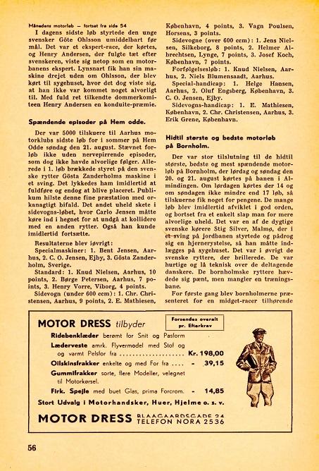 Sept. nr. Skandinavisk Motor Journal.