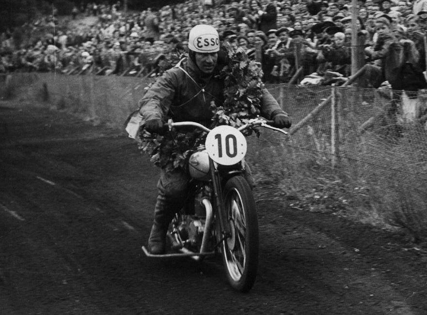 Ernst Østerlund, Silkeborg blev Jydsk Mester i 500cc standard.