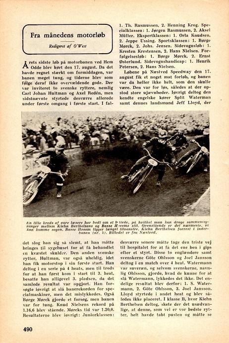 Sept. nr. Skandinavisk Motor Journal