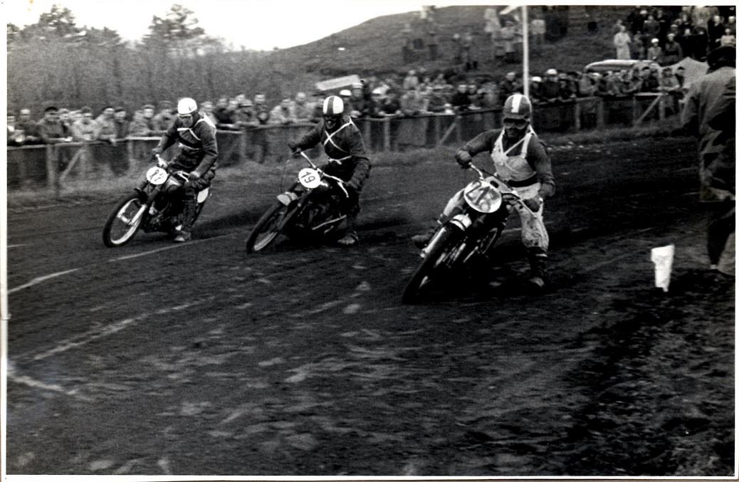 Knud Nielsen, Søren Juul og Niels Blumensaadt.