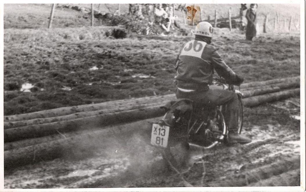Knud Nielsen i mudder.