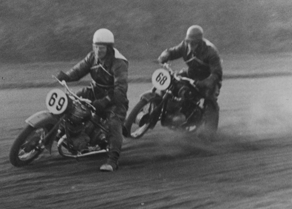 69 G.Williams og 68 Åge Iversen,DKW