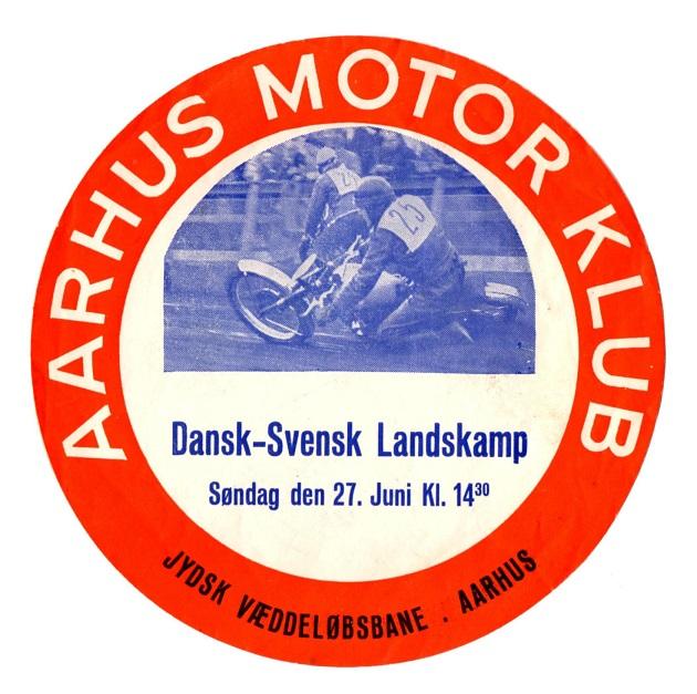 Rudemærkater til biler var meget anvendt i AMK i disse år, men meget få er bevaret.