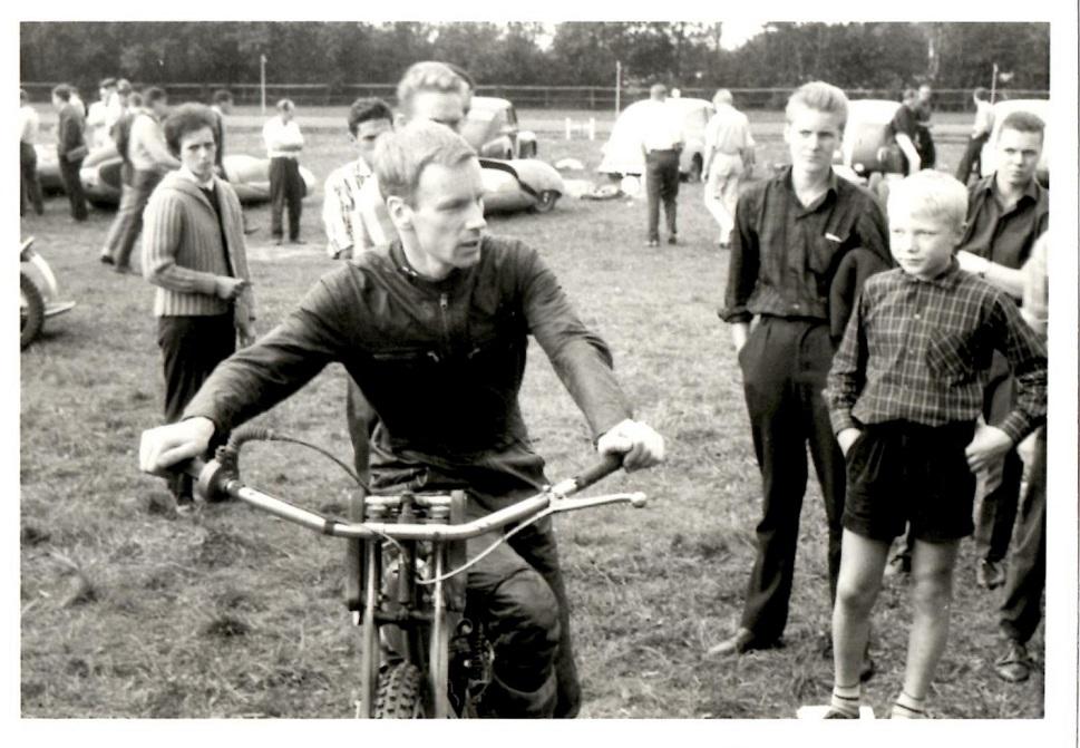 Speedwayverdensmesteren Ove Fundin var også til start