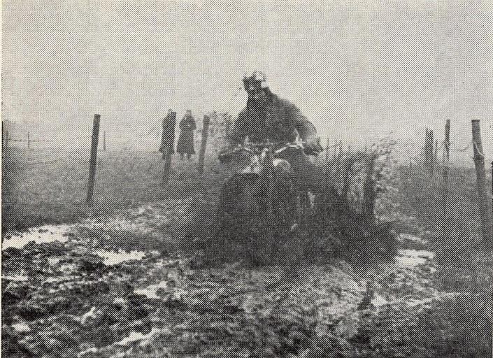 AMK´s egen Erling Pedersen forcerer en rigtig mudderetape.