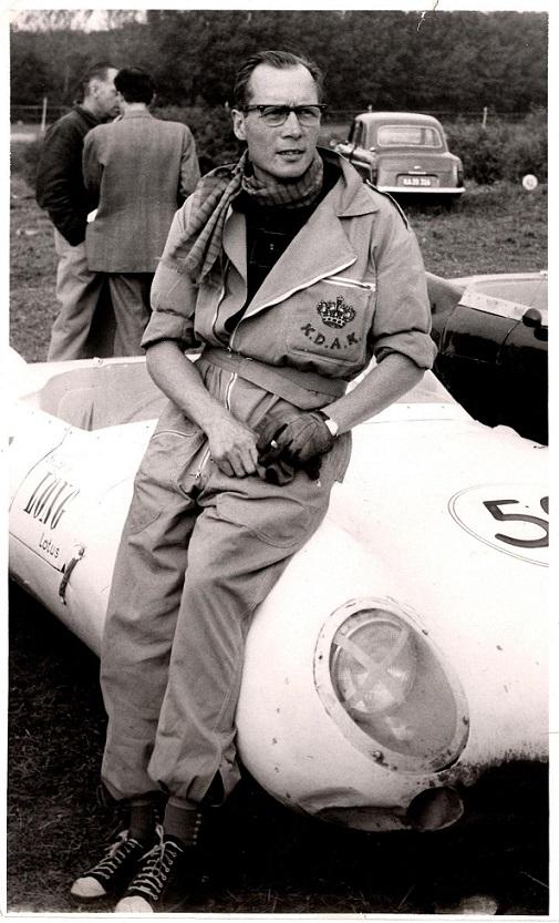 Julius Voigt Nielsen var med i sin Lotus.