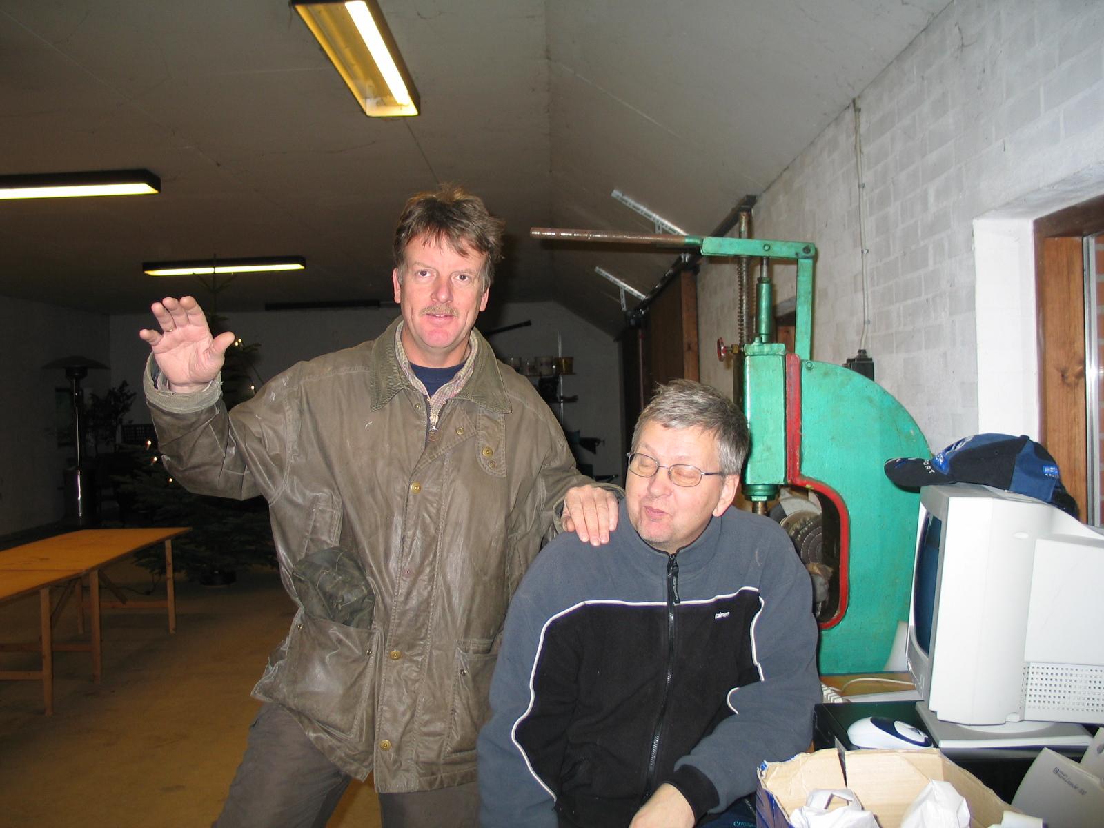Morgenholdet Steen Normann og Knud Møller