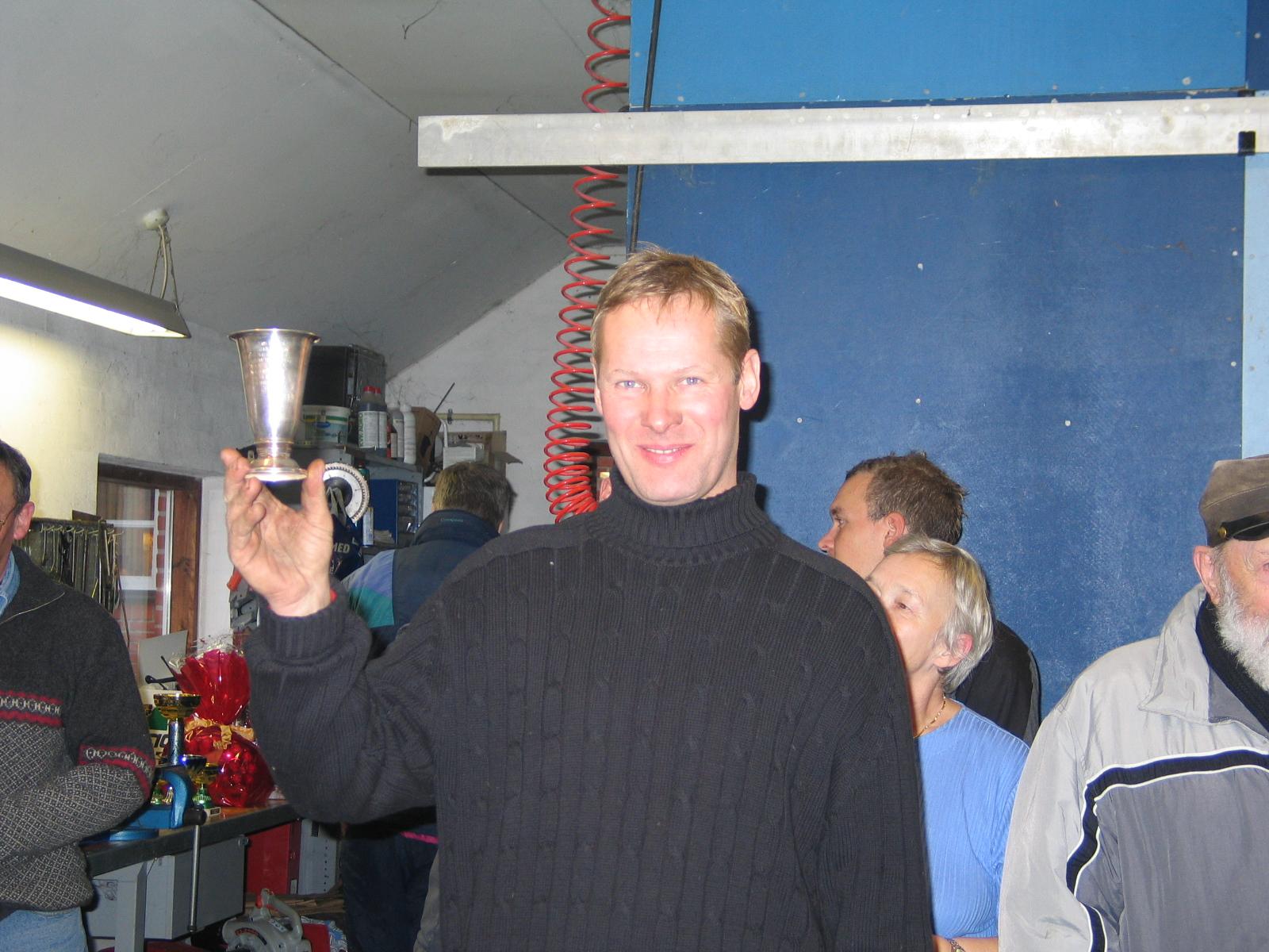 Bedømmerne gav dette år Fighterpokalen til Niels Ole Hald.