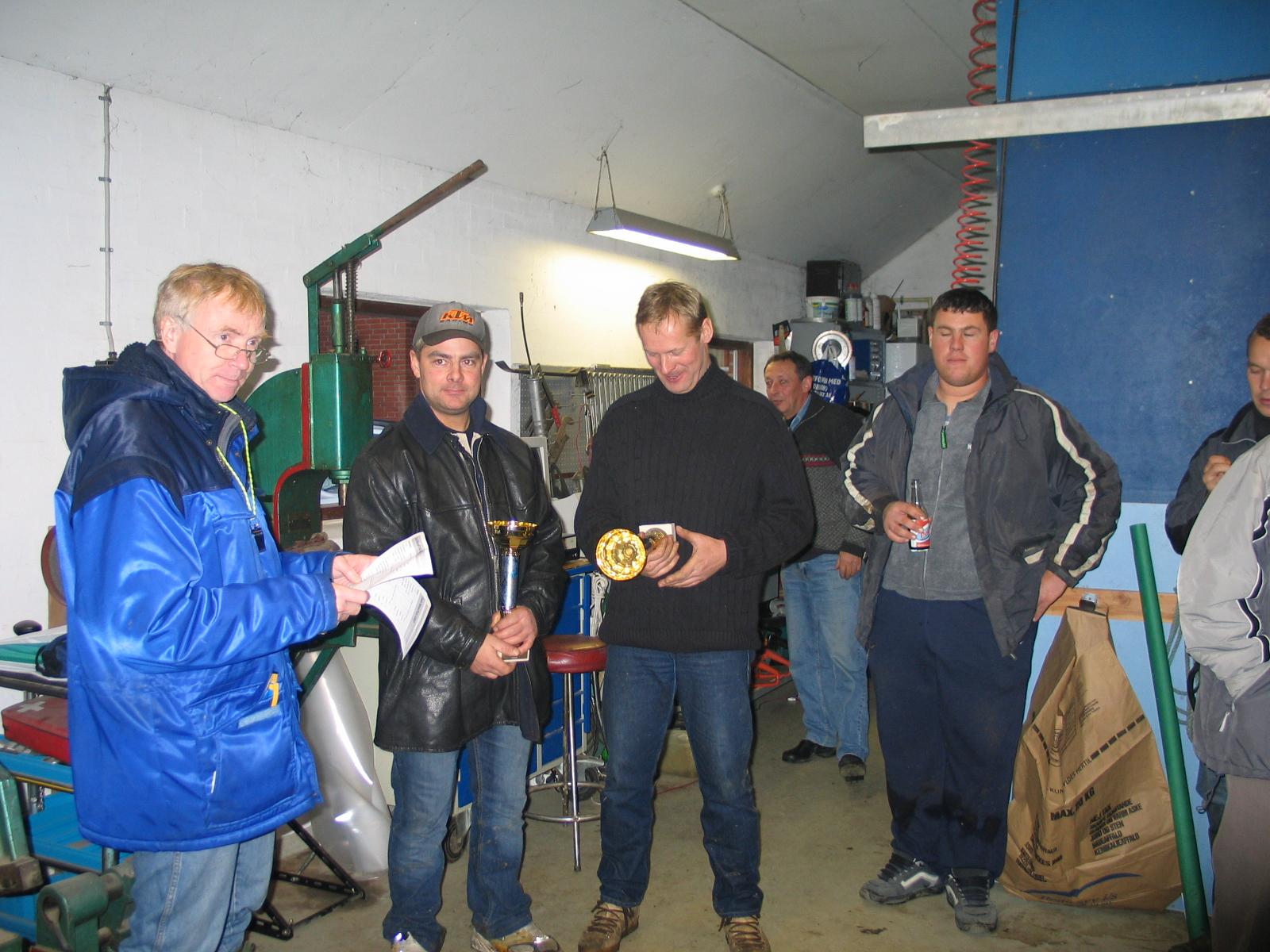 Niels Ole Hald blev toer.