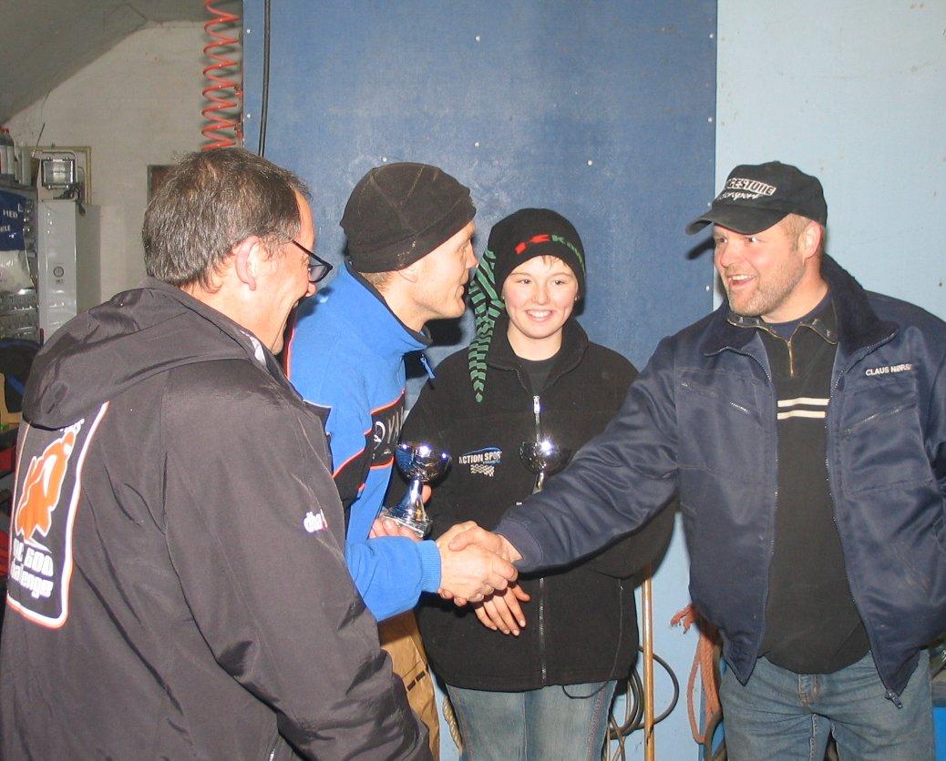 Quad Maxi. Nr. 1 John Bille, nr. 2 Belinda Lyngsøe, nr. 3 Claus Nørskov.