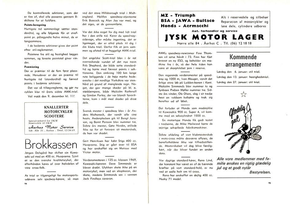 Annoncering af Nissetrial 1972-1.side
