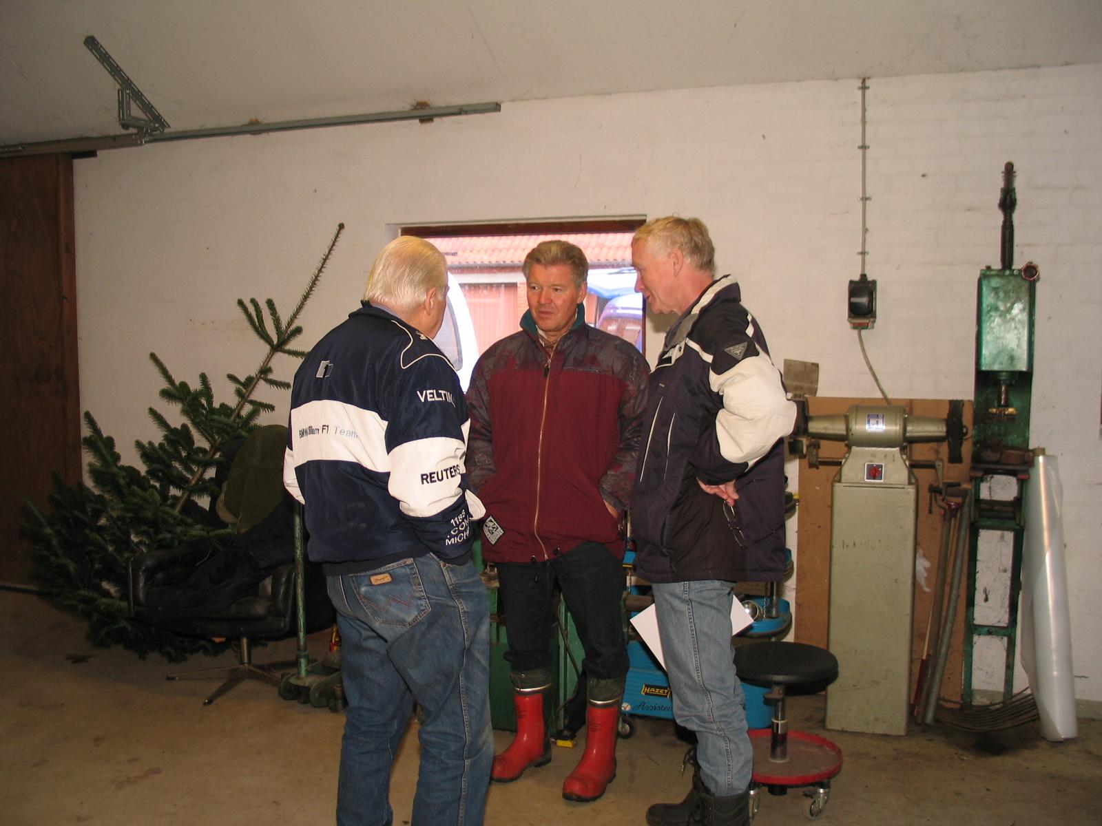 Carl, Finn Thomsen og Lars P.
