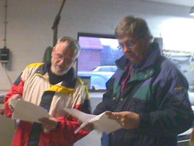 Niels Laustsen og Knud Møller styrer listerne.
