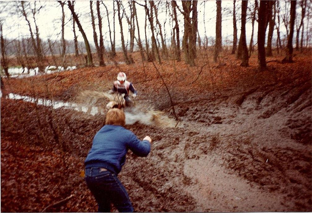Søren B. holdt normalt vinterpause, når der blev kørt Nissetrial, men i 1982 deltog han for første gang.