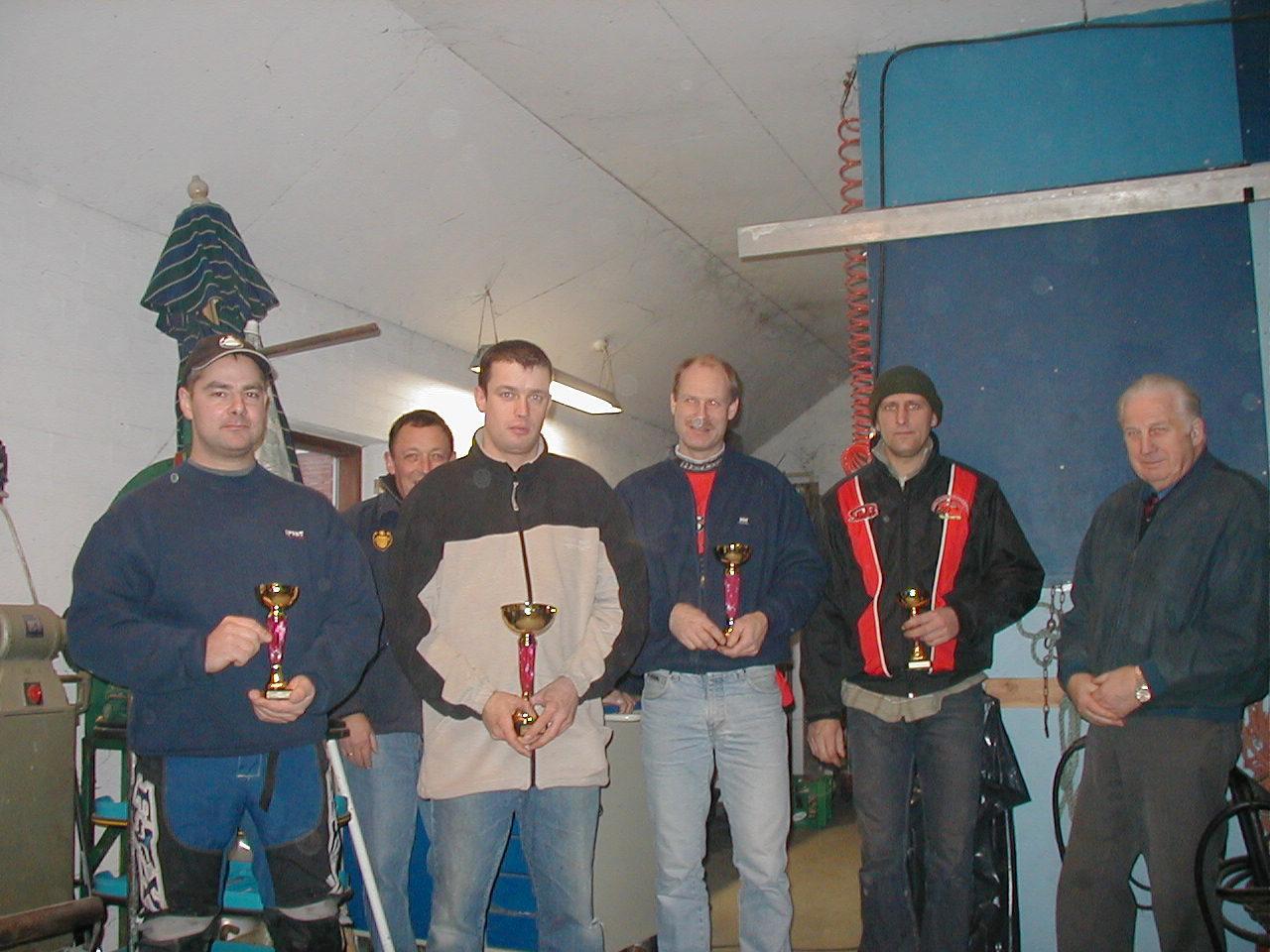 Kun fire gennemførte. Kenneth Mikkelsen vandt samlet foran Steen Boris, Lars Sørensen og John Høj. Lars Sørensen var hurtigste mand.