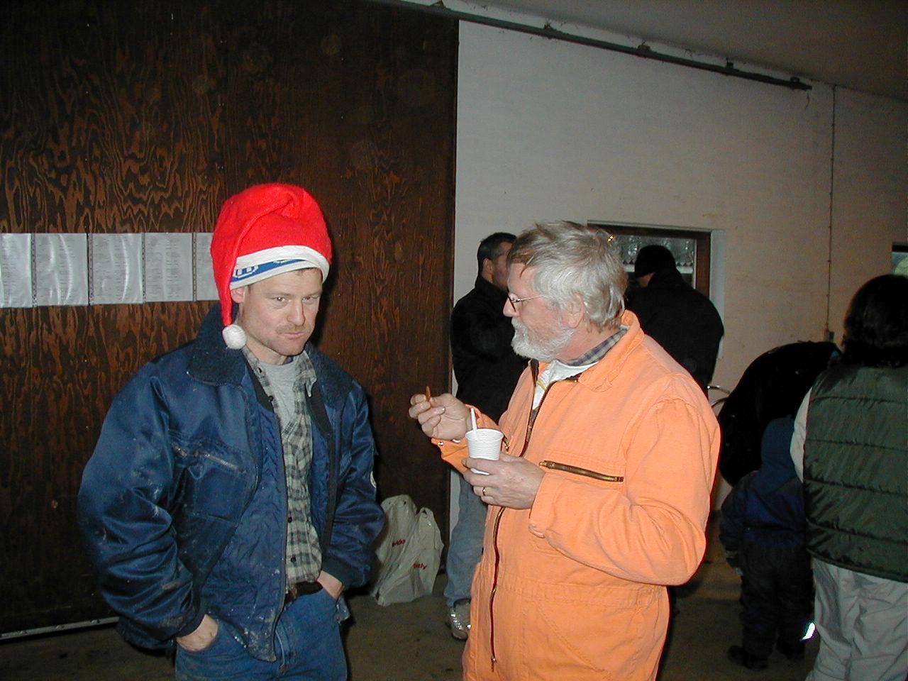 Kim Kjær og Niels Laustsen
