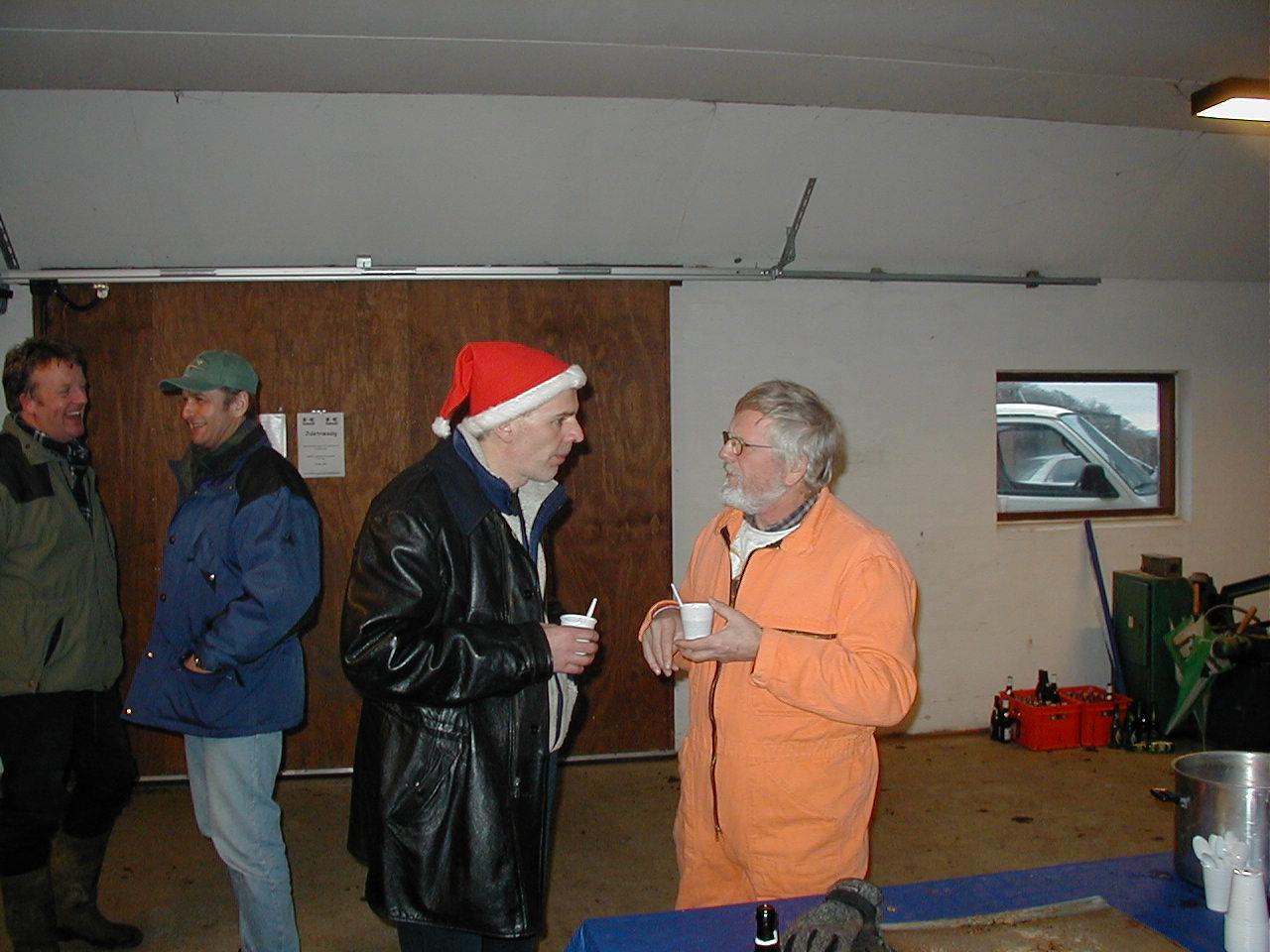 Svend Andersson i julesnak