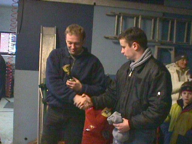 Benny Haslev tv og Kenneth Mikkelsen blev nr. 4 og 5.