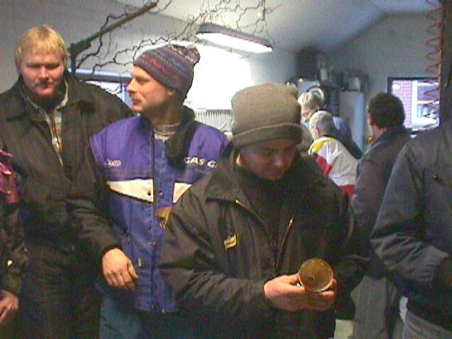 Steen Boris blev sammenlagt vinder foran Lars Sørensen.