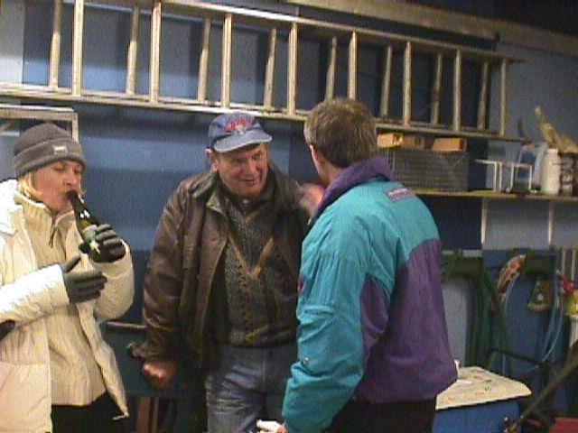 Ole Hald vandt Old Boys, her i snak med Søren B.