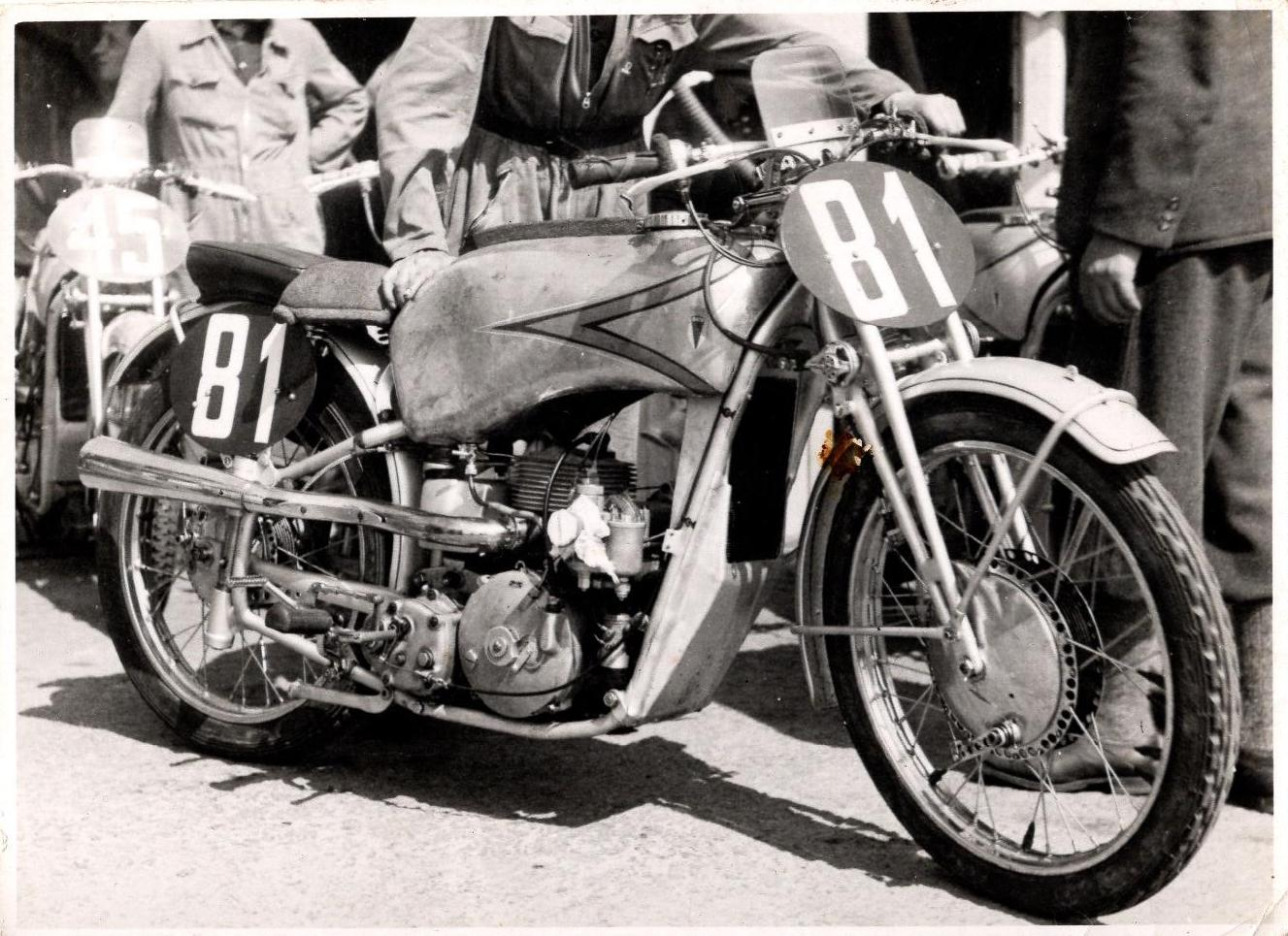 Ewald Kluges fabriks DKW 250cc