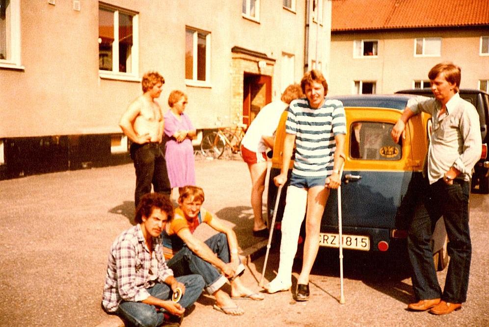 Forrest Niels Sejr, Krause, Carsten Jensen og Knud Møller.